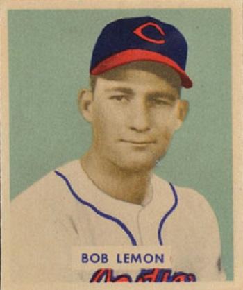 1949 Bowman Bob Lemon
