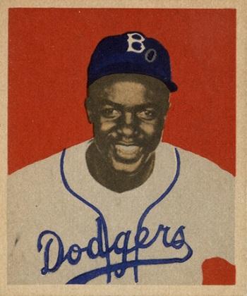 1949 Bowman Jackie Robinson