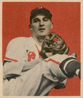1949 Bowman Warren Spahn