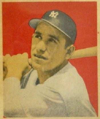 1949 Bowman Yogi Berra