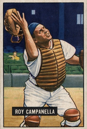 1951 Bowman Roy Campanella