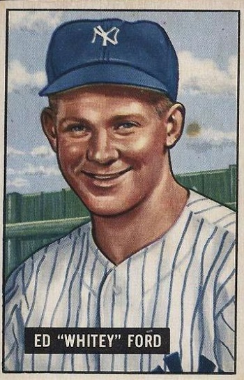 1951 Bowman Whitey Ford