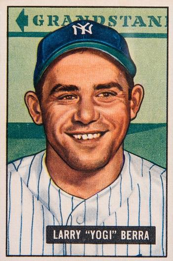 1951 Bowman Yogi Berra
