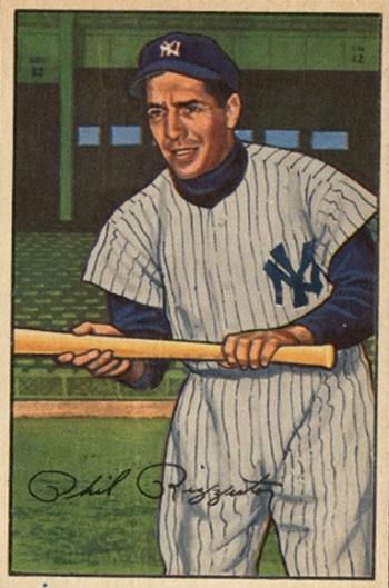 1952 Bowman Phil  Rizzuto