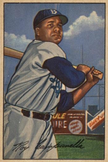 1952 Bowman Roy  Campanella