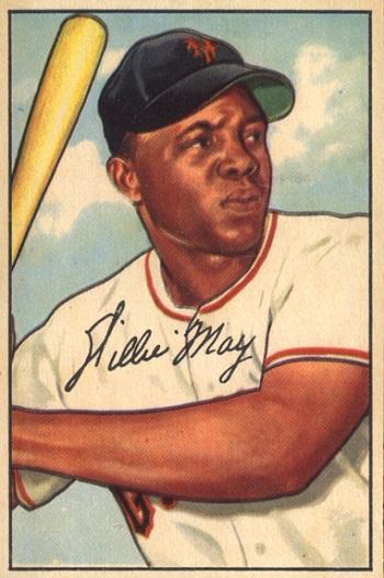 1952 Bowman Willie  Mays