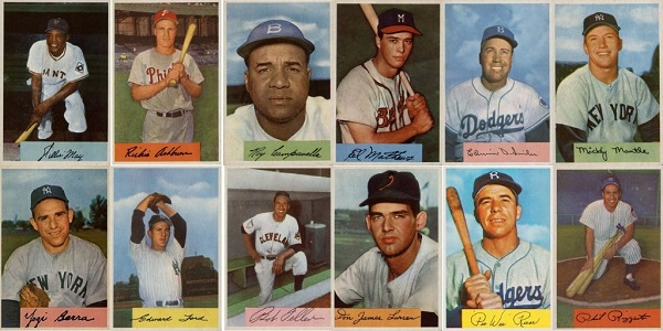 1954 Bowman Baseball Cards – 12 Most Valuable