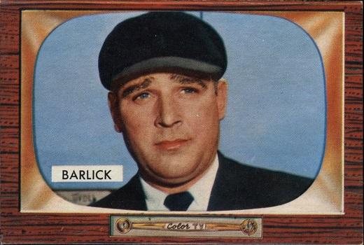 1955 Bowman Al Barlick UMP