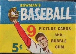 1955 Bowman Wax Pack