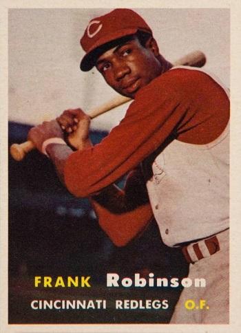 1957 Topps Frank Robinson