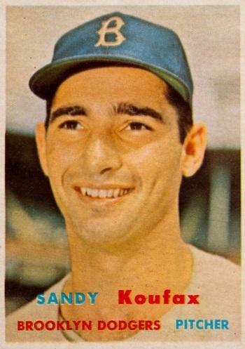 1957 Topps Sandy Koufax