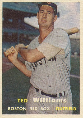 1957 Topps Ted Williams