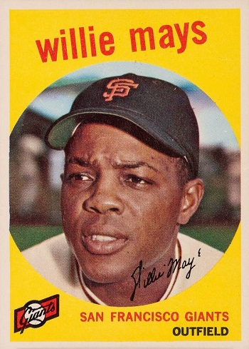 1959 Topps Willie Mays