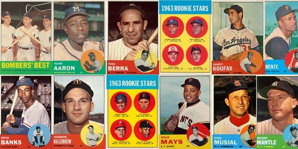 1963 Topps Baseball Cards – 12 Most Valuable
