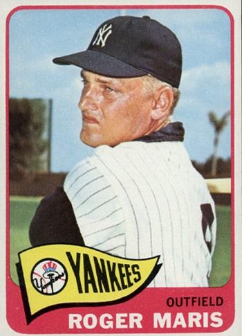 1965 Topps Roger Maris (#155)