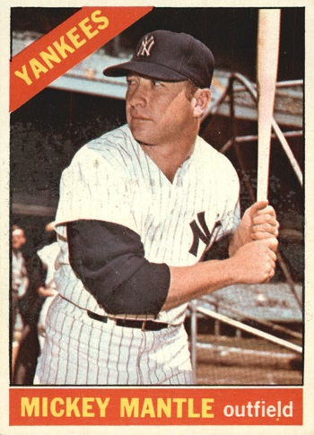1966 Topps Mickey Mantle