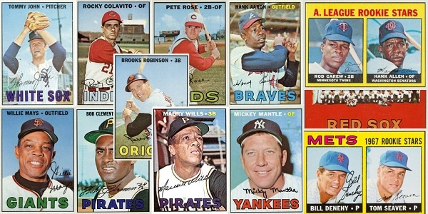 1967 Topps Baseball Cards – 12 Most Valuable