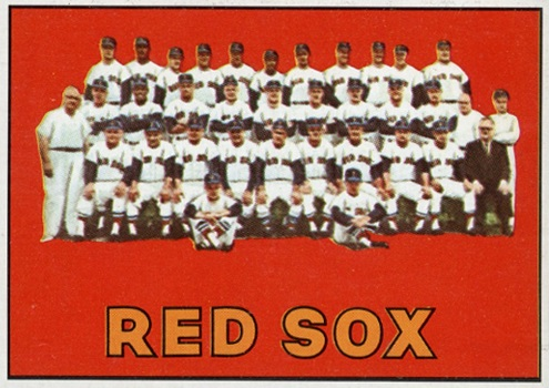 1967 Topps Red Sox Team