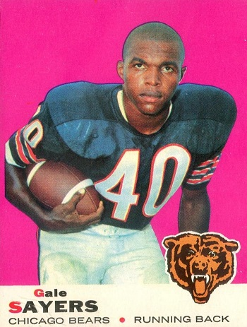 1969 Topps Gale Sayers