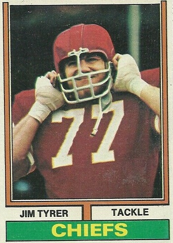 1974 Topps Jim Tyrer
