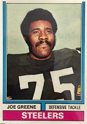1974 Topps Joe Greene