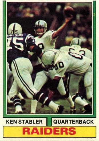 1974 Topps Ken Stabler