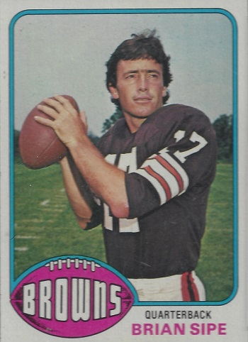 1976 Topps Brian Sipe