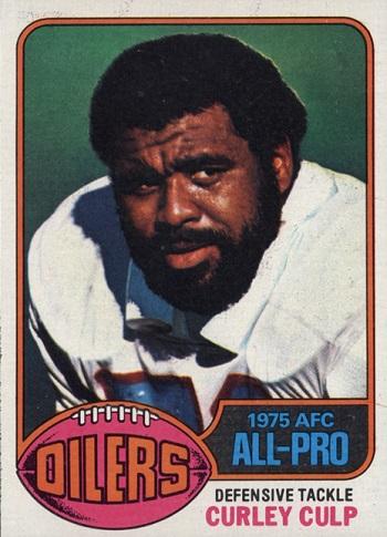 1976 Topps Curley Culp
