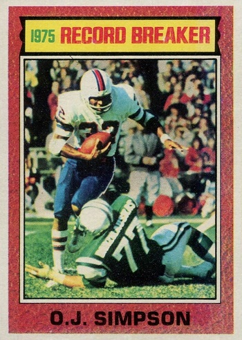 1976 Topps O.J. Simpson RB