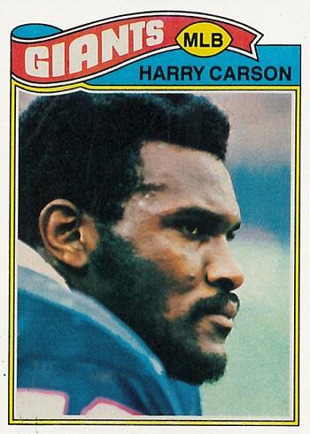 1977 Topps Harry Carson