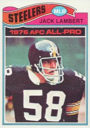 1977 Topps Jack Lambert All-Pro
