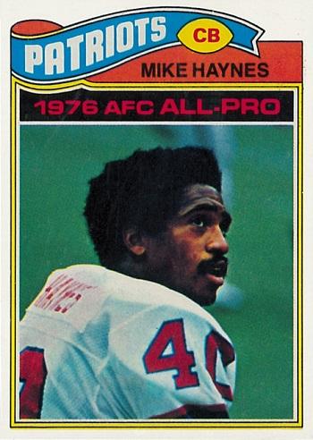 1977 Topps Mike Haynes