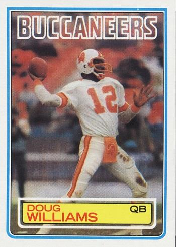 1983 Topps Doug Williams