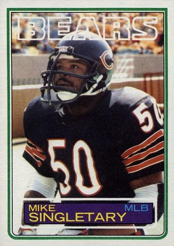 1983 Topps Mike Singletary