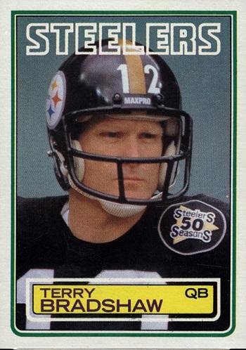 1983 Topps Terry Bradshaw
