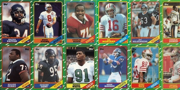 1986 Topps Football Cards – 12 Most Valuable