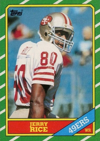 1986 Topps Jerry Rice