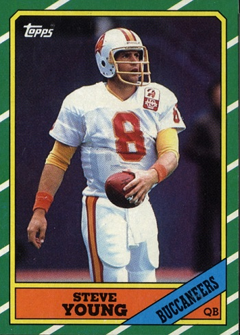 1986 Topps Steve Young