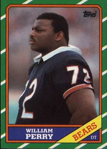 1986 Topps William Perry