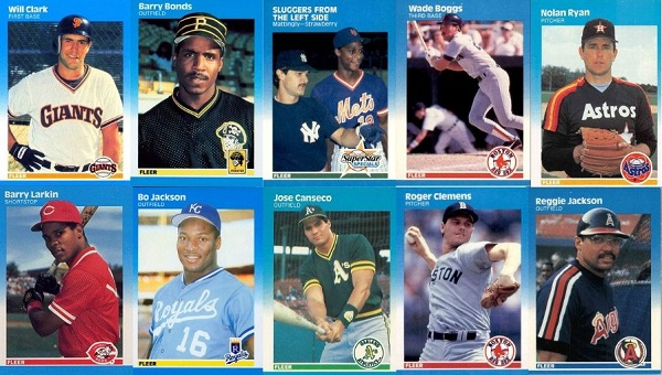 1987 Fleer Baseball Cards – 10 Most Valuable