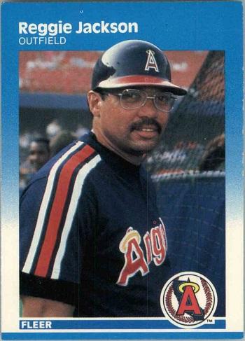 1987 Fleer Reggie Jackson