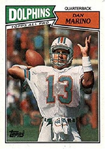 1987 Topps Dan Marino