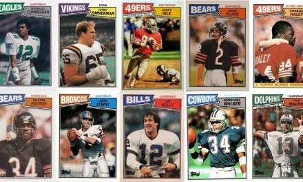 1987 Topps Football Cards – 11 Most Valuable