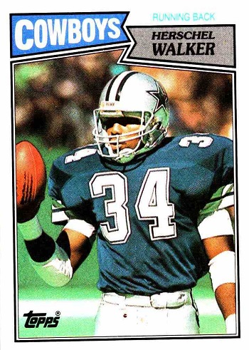 1987 Topps Herschel Walker