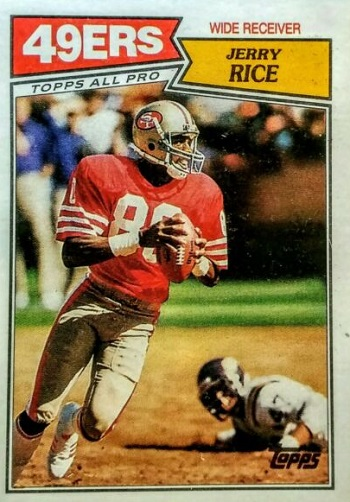 1987 Topps Jerry Rice