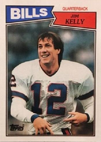 1987 Topps Jim Kelly