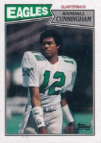 1987 Topps Randall Cunningham