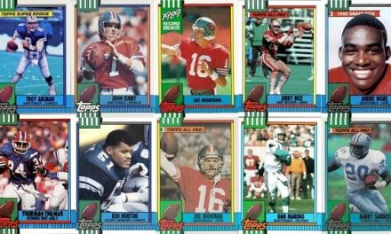 1990 Topps Football Cards – 10 Most Valuable