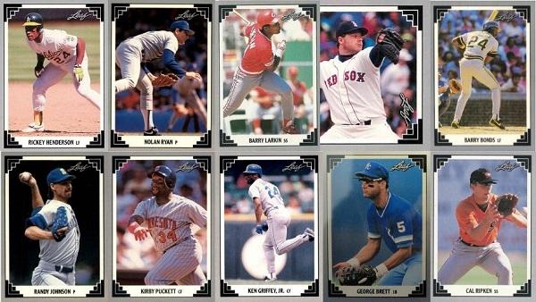 1991 Leaf Baseball Cards – 10 Most Valuable