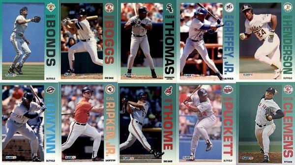1992 Fleer Baseball Cards – 11 Most Valuable
